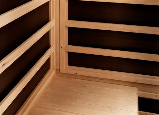 Infra kabína Prime+ 1515/c , infra sauny, suchá sauna, Fisa sauny, Saunabau, infra kabíny, Tylo, Helo, wellness, sauny