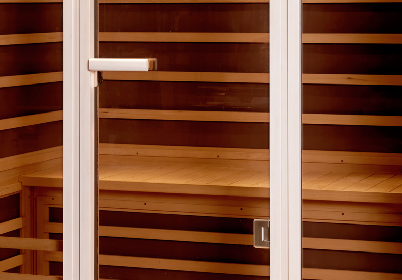 Infra kabína Prime+ 1611, infra sauny, suchá sauna, Fisa sauny, Saunabau, infra kabíny, Tylo, Helo, wellness