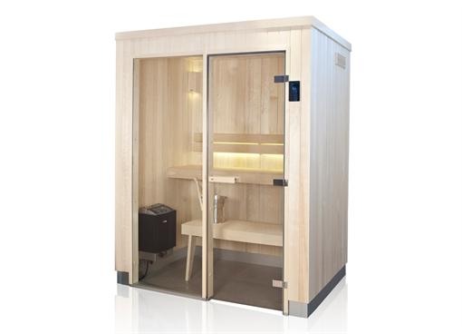 Evolve Plus GF Sauna, FISA Sauny, saunové kabíny, Saunabau, suchá sauna, Tylö sauny, finska sauna